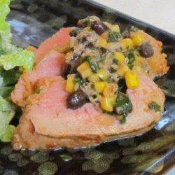 Stuffed Fiesta Pork Tenderloin #RSC