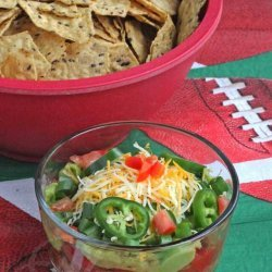 Seven Layer Super Bowl Dip