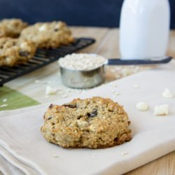 Chocolate-Raisin Oatmeal Cookies