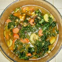 Sausage, Kale, and White Bean Soup recipe