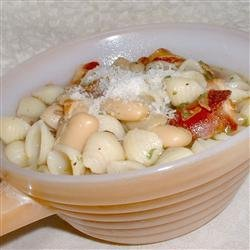 Italian White Bean and Pancetta Soup recipe