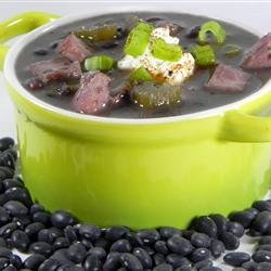 Patty's Mom's Black Bean Soup