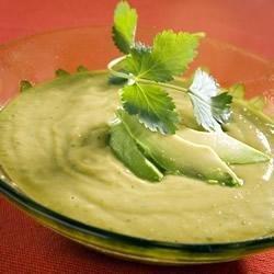Avocado and Cilantro Soup