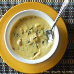 Wild Rice Cheese Soup