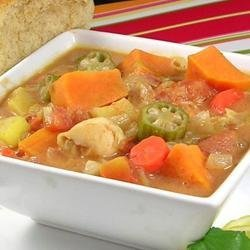 Zimbabwean Chicken and Vegetable Soup