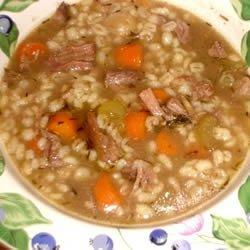 Beef and Barley Soup I