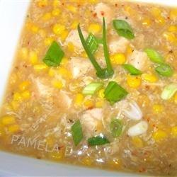 Chinese Creamy Corn Soup