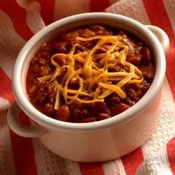 Simply Sensational Chili recipe