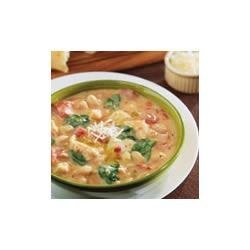 Creamy Tuscan Bean and Chicken Soup recipe