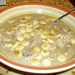 Mom's Oyster Stew