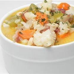 Nichole's Chicken Cauliflower Soup