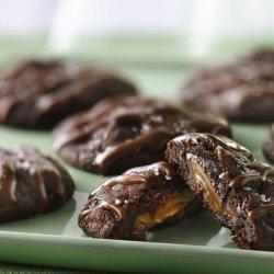 German Chocolate Crinkle Cookies