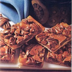 Chocolate Toffee Crescent Bars