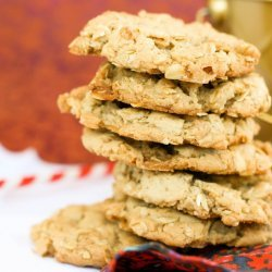 Crispy Toffee Cookies