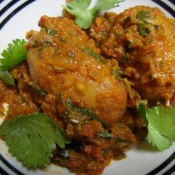 Dum Aloo (Fried Potatoes in Spicy Sauce )