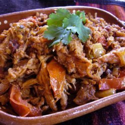 Shredded Pork Stew With Smoky Chipotle Tomato Sauce