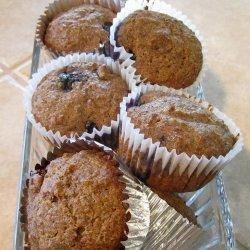 High Fiber High Protein Flax Muffins