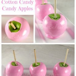 Baked Candy Apples