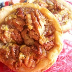 Maple and Pecans Creamy Tartlets