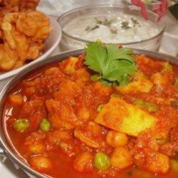 Rezika's Chicken & Vegetable Curry recipe