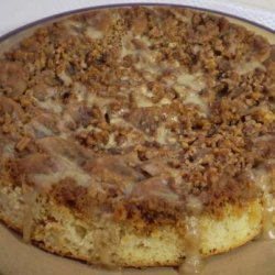 Banana-Pecan Upside-Down Cake recipe