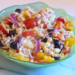Orzo Greek Pasta Salad