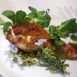 Chicken Drumsticks in Aromatic Crust