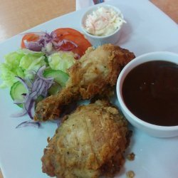Southern Fried Chicken and Gravy