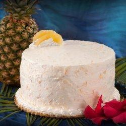 Pineapple Ambrosia Cake