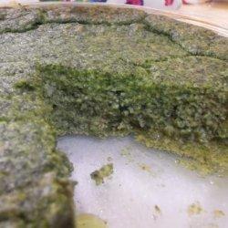 Crustless Spinach Pie