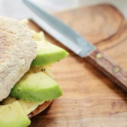 Healthy Breakfast Sandwich With Avocado and Egg