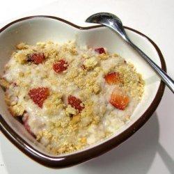 Strawberry Cheesecake Oatmeal