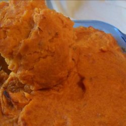 Whipped Beauregard Yams With Cardamom recipe