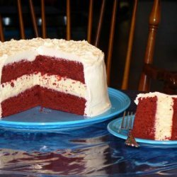 Red Velvet Cheesecake Cake