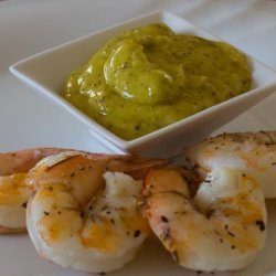 Australian BBQ Prawns With Lemon Myrtle Aioli recipe
