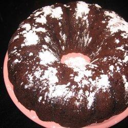 Kahlua (Or Amaretto) Chocolate Bundt Cake