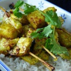 Moroccan Fish Skewers / Kebabs