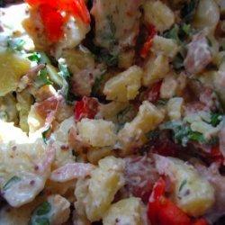 Ham and Mustard Potato Salad
