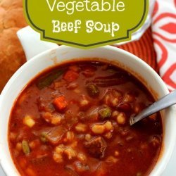 Simple Vegetable Beef Soup