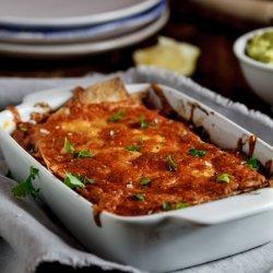 Enchilada Casserole - Vegetarian