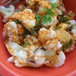 Cauliflower With Paprika-Garlic Sauce