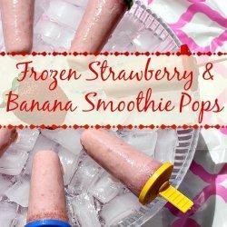 Frozen Strawberry Banana Smoothie