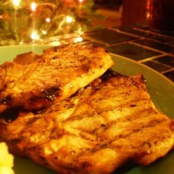 Acadia's Pork Chop Marinade
