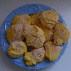 Quicky Lemon Crisp Cookies