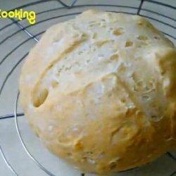Solar Cooked Irish Soda Bread