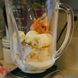 Breakfast Peanut Butter and Banana Smoothie