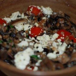 Bulgur-Mushroom Stove Top Pilaf