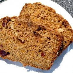 Carrot, Apple and Cinnamon Loaf  (Light)