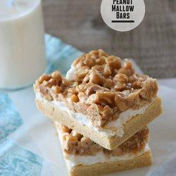 Peanut Mallow Bars