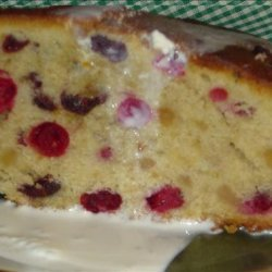 Cranberry Ginger Pudding